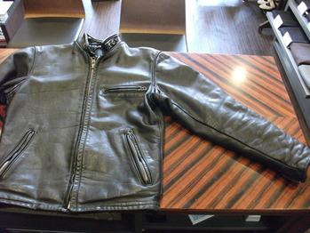 レザージャケット 『袖幅つめ』