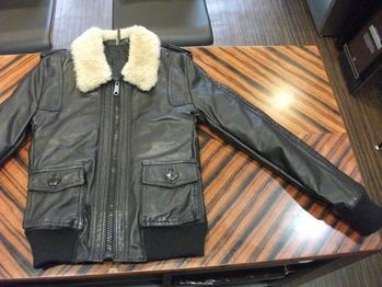 レザージャケット 『身幅~AH~袖口つめ、肩幅詰め、着丈詰め』