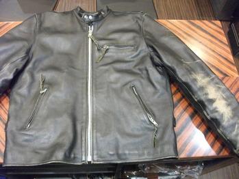 レザージャケット 『身幅~AH~袖幅つめ、肩幅詰め、着丈詰め』