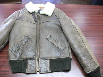 レザージャケット 『身幅~AH~袖幅つめ、肩幅詰め』