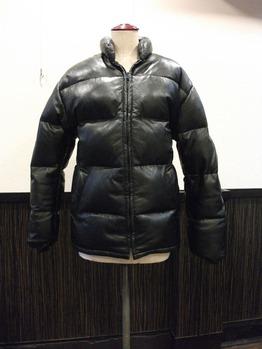 レザーダウンジャケット『身幅~AH~袖巾つめ』