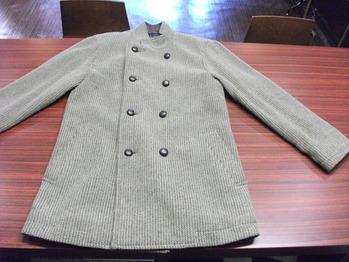 ウールコート 『身幅~AH~袖幅つめ、肩幅詰め』
