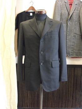 ジャケット 『着丈つめ 三つボタン~段返り二つボタン 袖丈詰め』