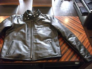 レザージャケット 『身幅~AH~袖口つめ、着丈つめ』