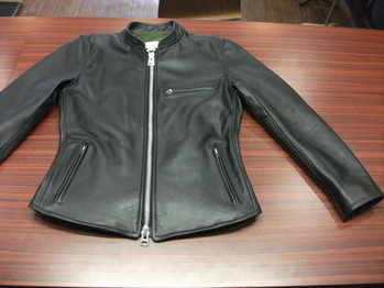 レザージャケット 『身幅~AH~袖幅つめ、着丈詰め、上で袖丈詰め』