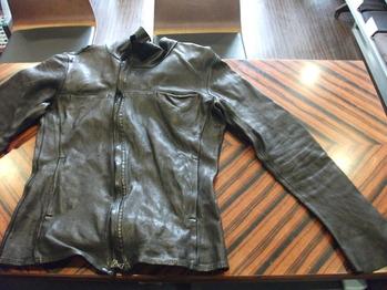 レザージャケット 『着丈つめ、袖丈つめ』