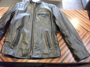レザージャケット 『身幅~AH~袖幅つめ、着丈詰め』
