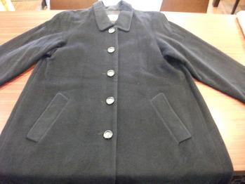ラグランスリーブウールコート 『身幅~AH~袖幅つめ、肩山つめ』