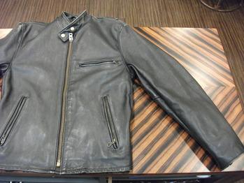 シングルライダースジャケット『身巾~AH~袖巾つめ