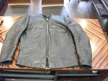 レザージャケット 『身幅~AH~袖幅つめ』