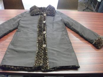 毛皮コート 『身幅~AH~袖幅つめ、肩幅詰め』