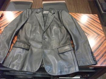 レザージャケット 『身幅~AH~袖幅つめ、肩幅つめ、着丈つめ』
