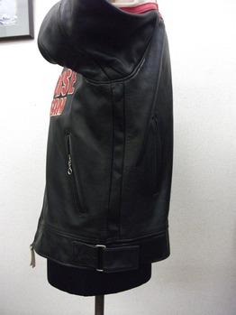 ライダースジャケット『身巾~AH~袖巾出し