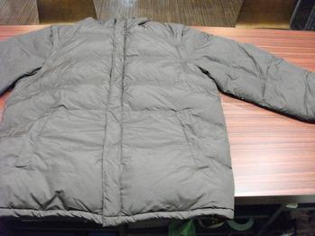 ダウンジャケット 『身幅~AH~袖幅つめ、肩幅詰め、上で着丈詰め』