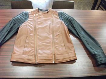 レザージャケット 『着丈詰め』