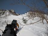 北稜ジャンクションピークへ