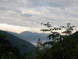 IMGP8924_trim富士山と捜索ヘリ