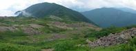 IMGP9043-9044白河内から笹山を見る