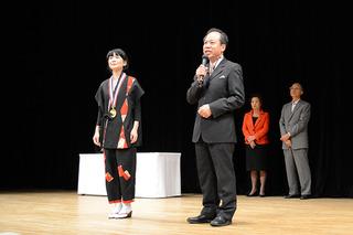 金賞受賞の稗田遼子さん