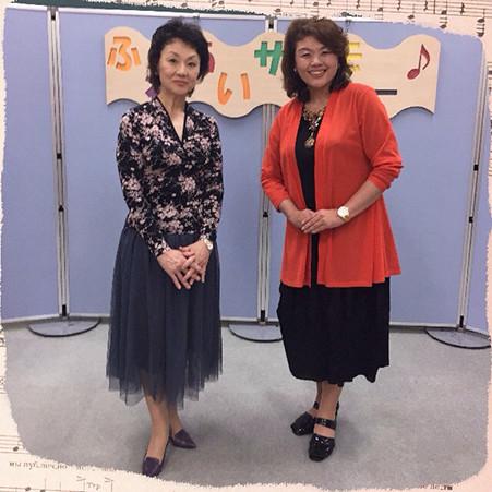 熊谷百合子さんと池上プロフェッサー