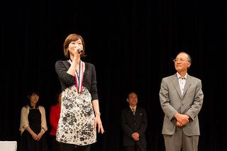 銀賞受賞の高橋淳子さん