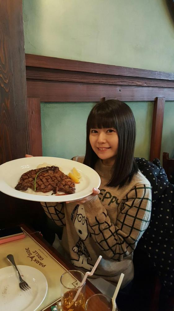 【画像】美人声優・竹達彩奈さん、今年の肉納めwwwwwwwww