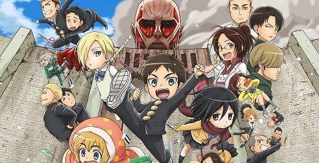 アニメ『進撃!巨人中学校』OPに本家と同じく「紅蓮の弓矢」などのLinked Horizonに決定!