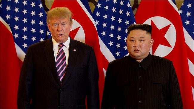 米国トランプ大統領と北朝鮮キム委員長が南北非武装地帯で面会へ