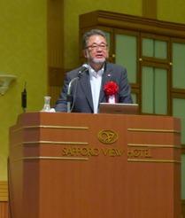 内田芳明 全国副会長