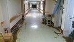 一味園廊下   泥取り後