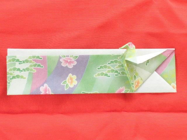 ハート 折り紙 折り紙箸袋折り方 : blog.livedoor.jp