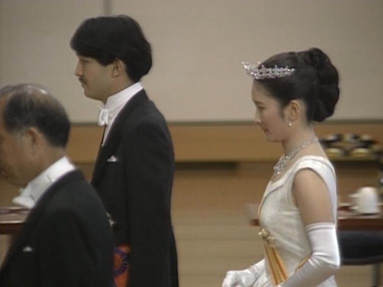 皇室の写真  川嶋紀子さんが紀子様になった日