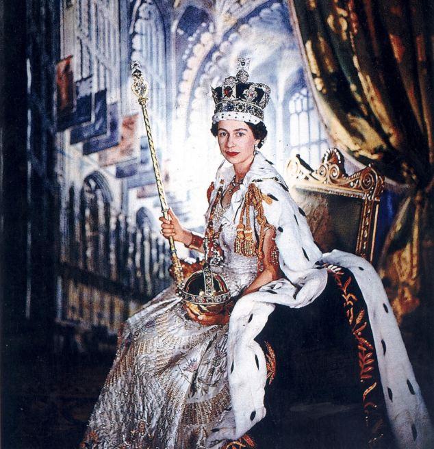 エリザベス女王の王冠 : 皇室の...