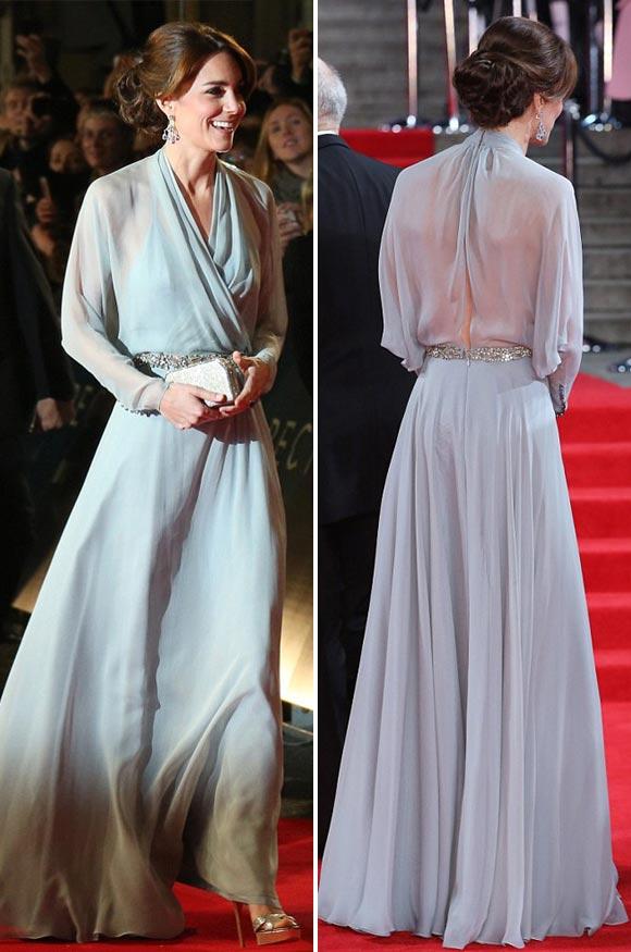 皇室の写真  キャサリン妃のドレス