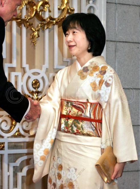 皇室の写真  紀宮様のお着物