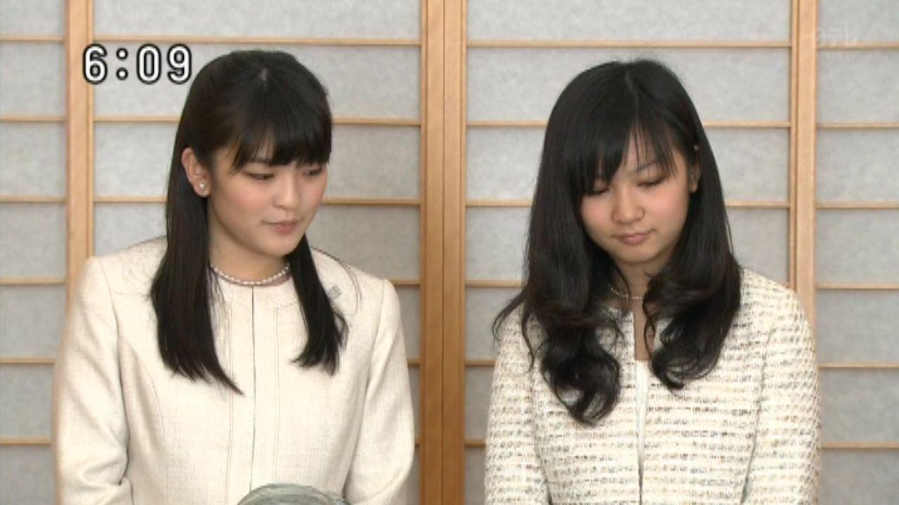皇室の写真  秋篠宮美人姉妹