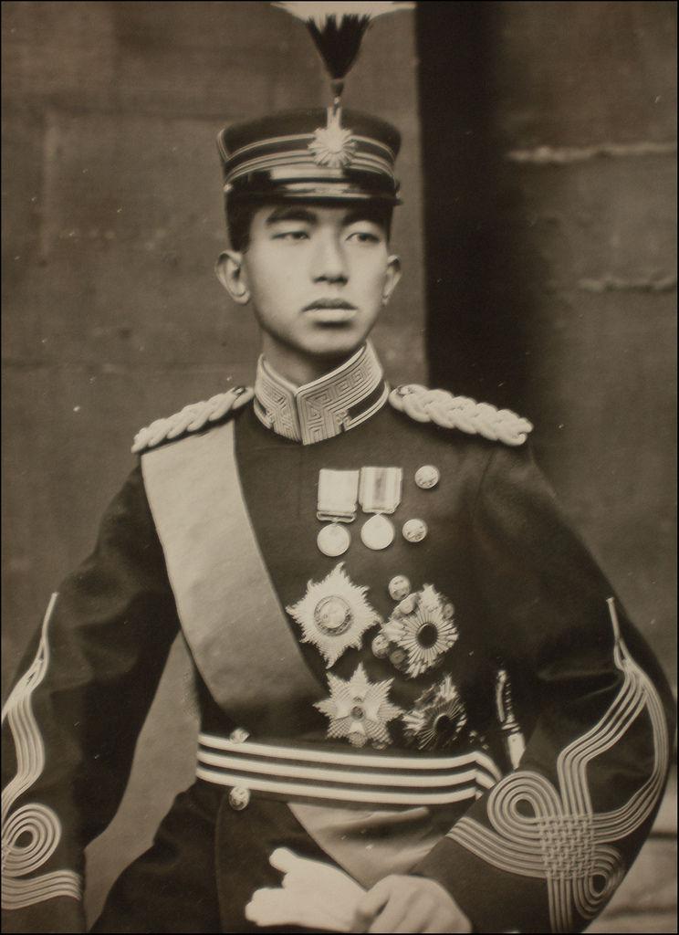 皇室の写真  昭和の4兄弟