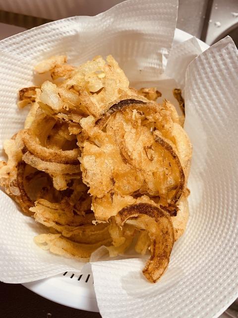 玉ねぎの天ぷら作ってみた【料理ガチ初心者による】