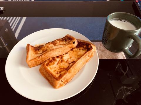 超普通のフレンチトーストの作り方【料理初心者による料理】