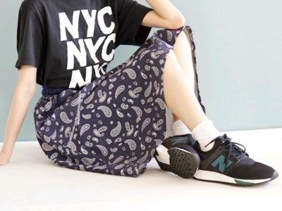 ニューバランス スニーカー スポーティーファッション