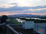 2010年9月1日の日没後