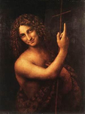 レオナルドの洗礼者ヨハネ