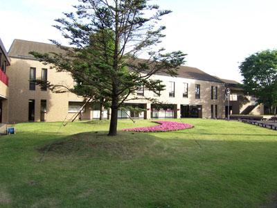 恵泉女学園大学の美しい眺め1