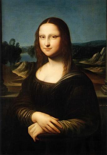 オスロ・国立美術館のモナリザ