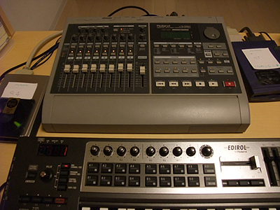VS-880とZIPとMO装置