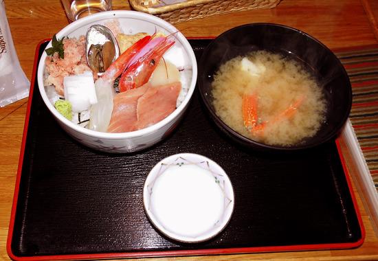 170416 西伊豆ツーリング  よこ田海鮮丼