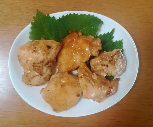 鶏胸肉照り焼き