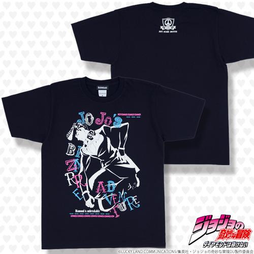 東方仗助Tシャツ_1
