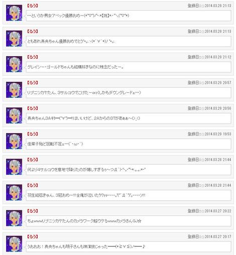 世界フィギュア実況その2(男子フリー、女子SP&フリー)