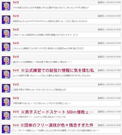 ソチ五輪実況その3(男子SP+スノボハーフパイプ)
